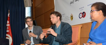Talking about freedom of expression in Tunis