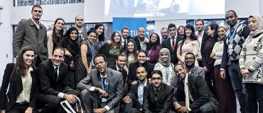 SafirLab 2014 : 21 jeunes Égyptiens, Jordaniens, Libyens, Marocains, Tunisiens et Yéménites défendent leurs projets à Paris