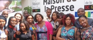 Lancement du projet Guinée Info Santé