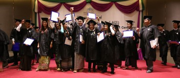 First graduation ceremony at the Myanmar Journalism Institute (MJI)