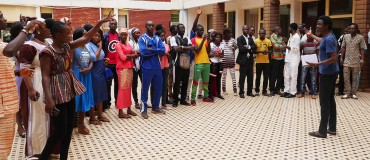 100 young Burkinans trained in citizen public speaking