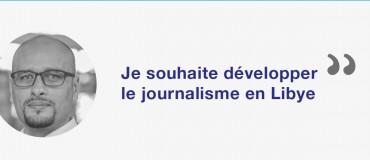 """Moi, journaliste libyen"""" : Sefyan"""