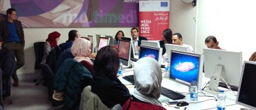 Digital training for Jordanian journalists