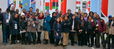 Forty journalists report live from COP21!