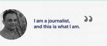 """""""I am a Libyan journalist"""": Rizk Faraj Rizk"""