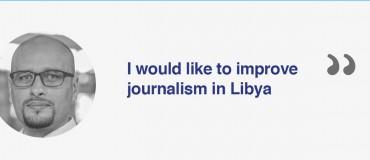 """I am a Libyan journalist"": Sufian Khalfalla Allah"