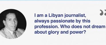 """I am a Libyan journalist"": Ibrahim Mohamad Alhaji"