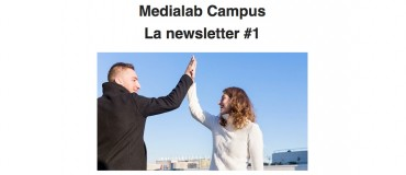 Follow Medialab Campus, subscribe to its newsletter!