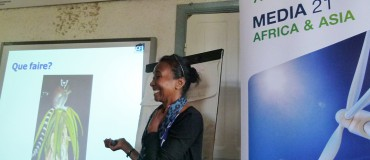 Training local Madagascan radio stations on climate change issues