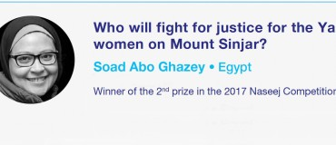 Who will fight for justice for the Yazidi women on Mount Sinjar?