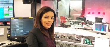 Samia Bayouli: edit the news with journalists and record it with my voice