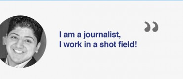 """I am a Libyan journalist"": Sleiman Al Barouni"
