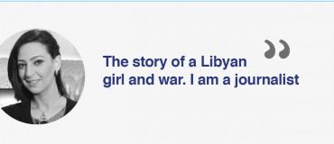 """I am a Libyan journalist"": Malak Beit Al Mal"