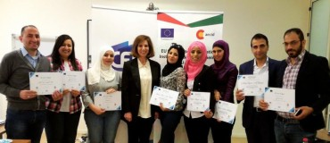 Covering political news: Jordanian journalists in training