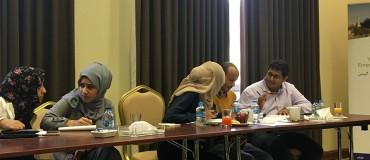 Onze journalistes yéménites se forment au traitement journalistique de l'information humanitaire